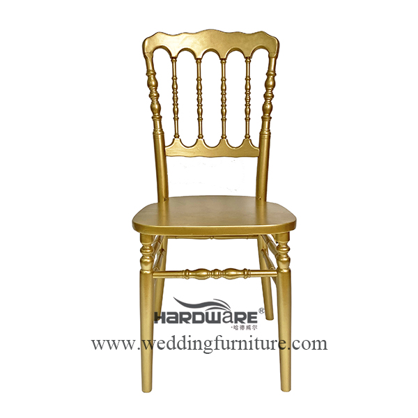 Factory direct sale Napoleon wedding event chair