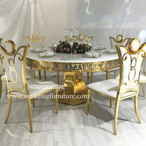 led wedding table