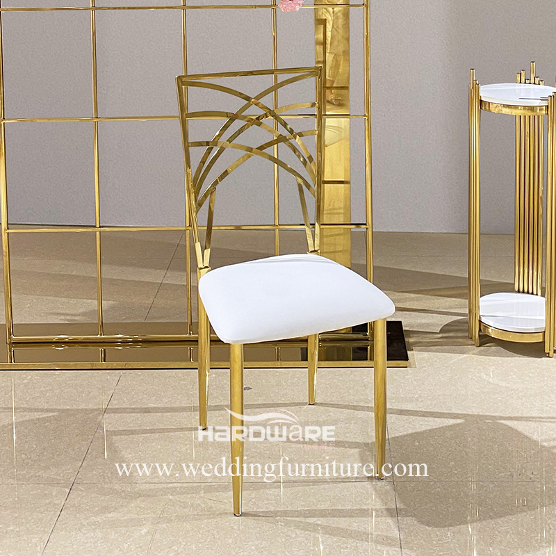 Stainless Steel Wholesale Wedding And Event Decoration Chairs
