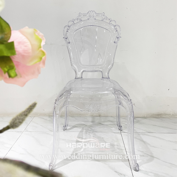 New Style Stacking Clear Wedding Garden Party Chair for Sale