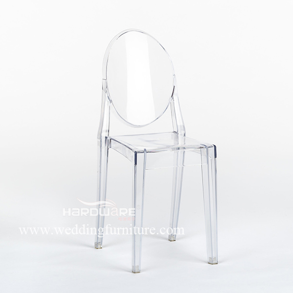 Hot sale crystal clear ghost chair
