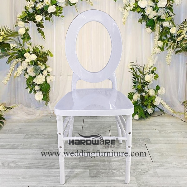 Round back design banquet event chair